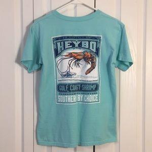 HeyBo mint green T-shirt Sz S